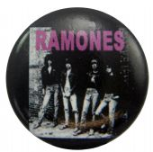 Ramones - 'Rocket to Russia' Button Badge